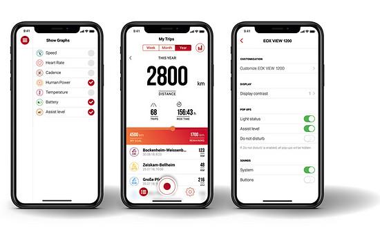 Die Sigma EOX App ist individuell konfigurierbar