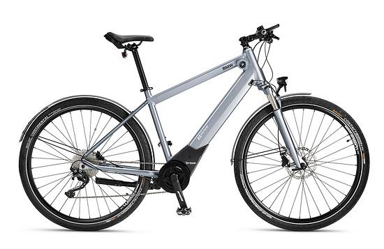 Brose und BMW setzten ihre Zusammenarbeit im E-Bike-Segment fort- Das neue BMW Active Hybrid E-Bike mit Brose Drive S Alu Antrieb