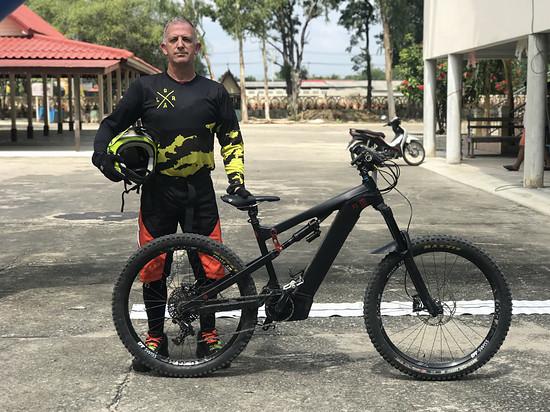 E/Bike Downhill in Saraburi Thailand