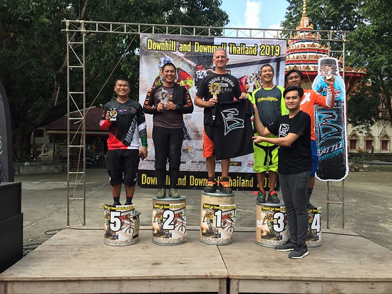 E/Bike Downhill in Saraburi Thailand