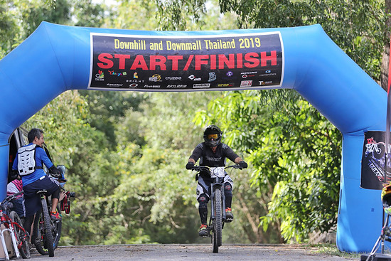 E-Bike DH Rennen in Khao E-to
