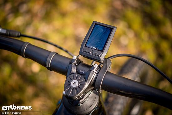 Mondraker hat das Bosch Kiox-Display mittig vor dem Lenker platziert