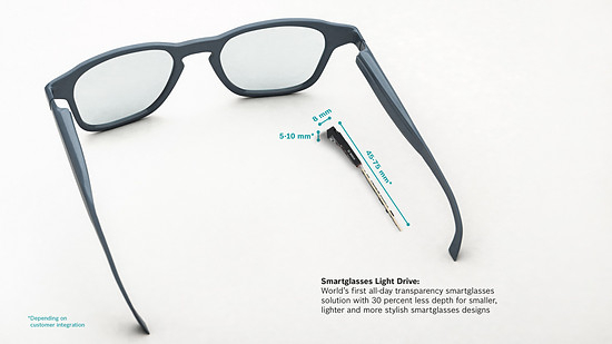 Bosch Smartglasses Light Drive