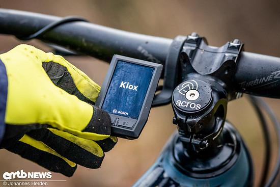 Das Kiox-Display von Bosch fungiert nicht nur als E-Bike-Display, sondern auch als Fitness-Computer