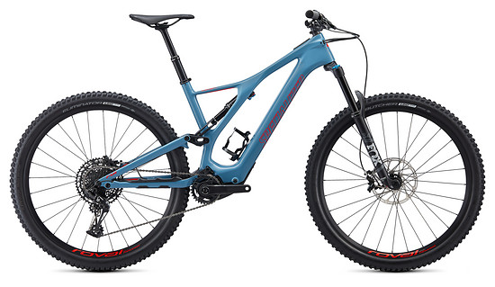 Specialized Levo SL Expert Carbon – Storm Grey / Rocket Red