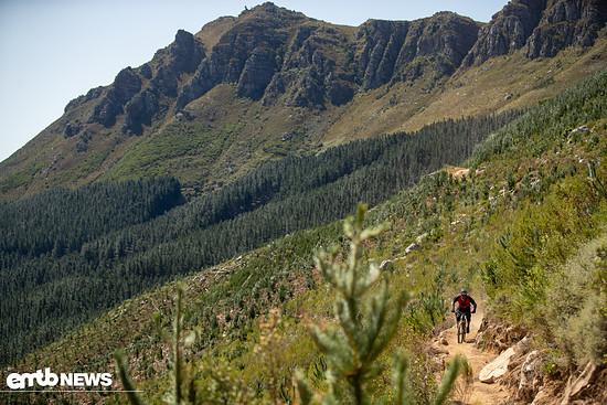Die Landschaft in Südafrika ist beeindruckend