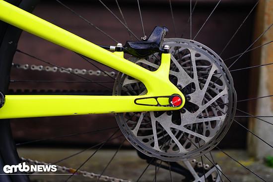 Bremsen unter 200 mm Scheibengröße müssen draußen bleiben