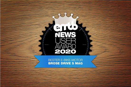 Platz zwei geht mit 31 % der Stimmen an den Brose Drive S Mag