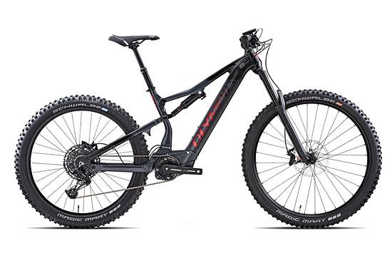 Olympia EX900 – Federweg: 160 mm / 150 mm   Gewicht: 26,2 kg   Preis: 5.450 € (UVP)