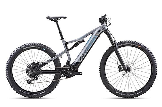 Olymbia Gembo Prime – Federweg: 180 mm / 180 mm   Gewicht: 26,2 kg   Preis: 5.499 € (UVP)