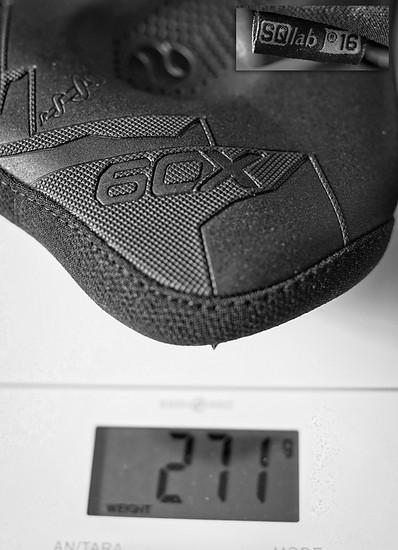 Gewicht SQlab60X Breite 16