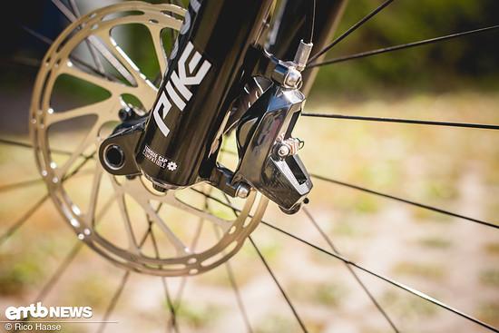 Kleinere Bremsscheiben als 200 mm am E-Bike? Nicht sinnvoll!