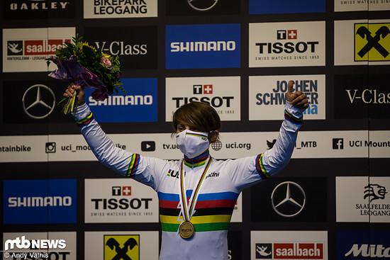 Melanie Pugin - E-MTB Weltmeisterin 2020