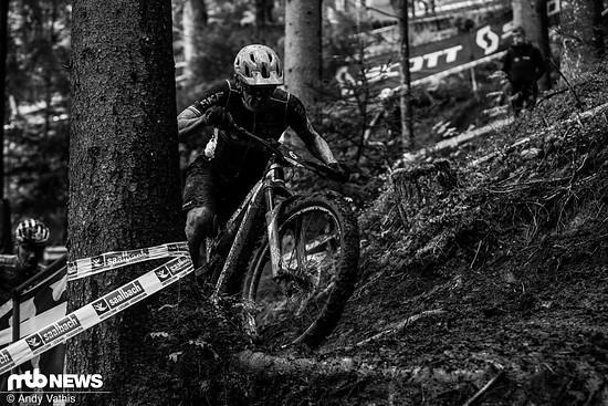 Julien Absalon konnte das Rennen nicht beenden