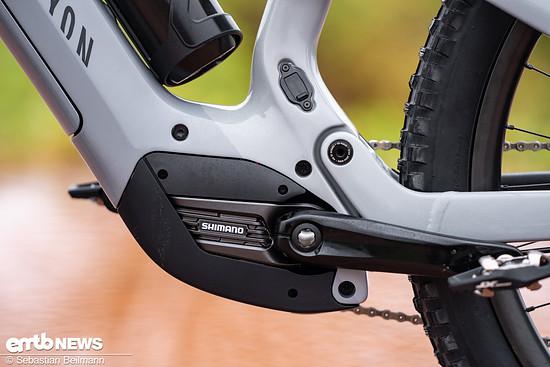 Mit dem Shimano EP8 Motor samt 630 Wh Akku sind die Canyon Modelle für die Zukunft gerüstet