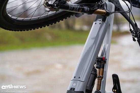 Damit hält in den E-Bikes auch der neue 630 Wh-Akku Einzug