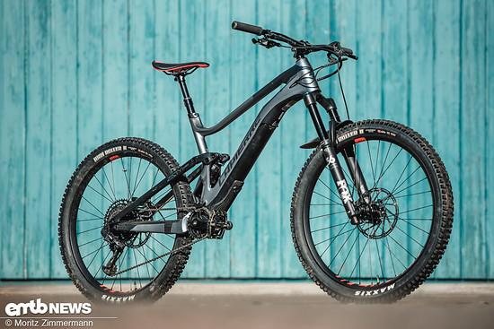 Das Lapierre E-Zesty 9.0 rollt auf 27,5-Zoll-Laufrädern