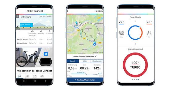 Bosch eBike Connect – die App für den Performance CX bietet neben einigen Spielereien auch sinnvolle Routenaufzeichnung und Navigation