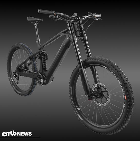 Exess Ecross – martialisches E-Downhillbike für Bikepark und richtig grobe Pisten