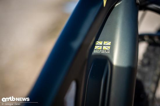 Die Firma Whyte stammt aus Großbritannien und ist für solide Bikes bekannt.