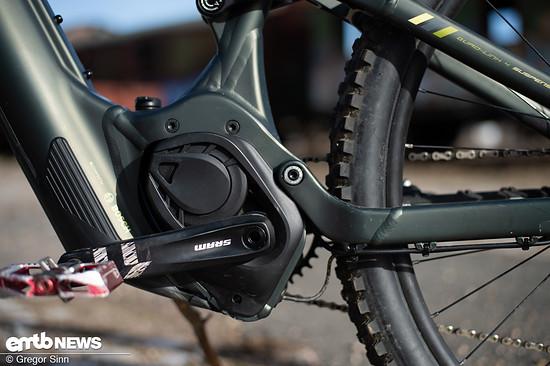 Herz des Bikes ist der Bosch CX-Motor.