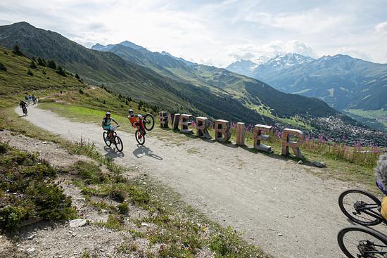 Die Bosch eMTB-Challenge macht auch in diesem Jahr traditionell Halt beim E-Bike Festival in Verbier / Schweiz