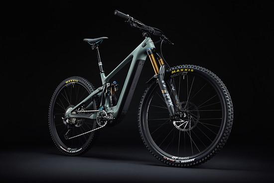 Yeti SB160E - Neuheit 2022 YetiCycles 160E T1 Rhino Dark 01