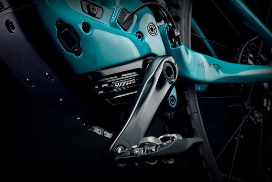 Yeti setzt auf den 85 Nm starken Shimano EP8 mit einem 630-Wh-Akku