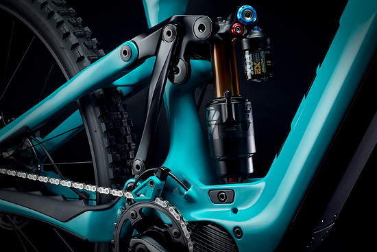 2022 YetiCycles 160E Detail 6Bar Drive