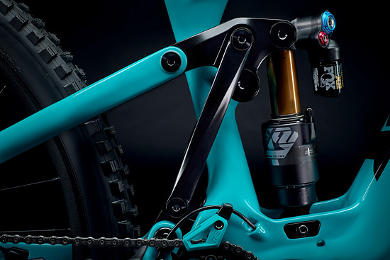 2022 YetiCycles 160E Detail 6Bar Profile