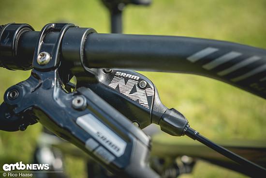 Schalt- und Bremsequipment von SRAM