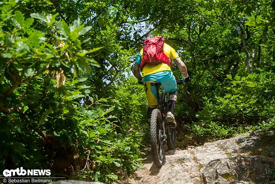 Die Uphill-Qualitäten sind sehr gut