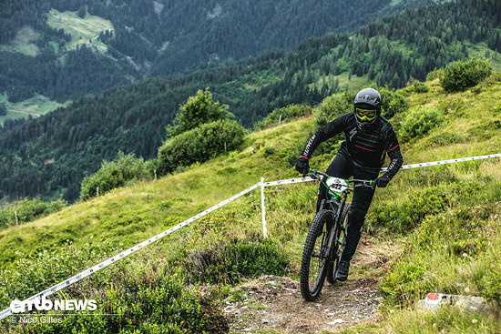Auch Sebastian Maag von Specialized war am Start