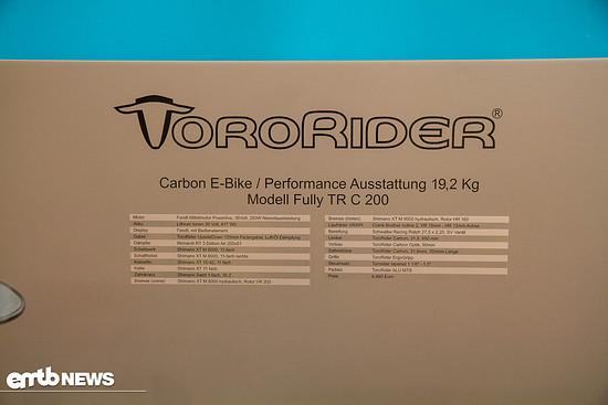 toro rider 2017-2