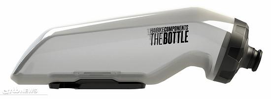TheBottle ist eine eigenständige Trinkflasche, die mittels ...