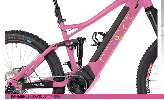 Extreme pink if you want it...