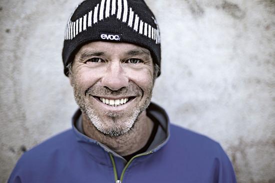 Markus Greber, der sympathische Vagabund, hat immer ein Lächeln auf den Lippen
