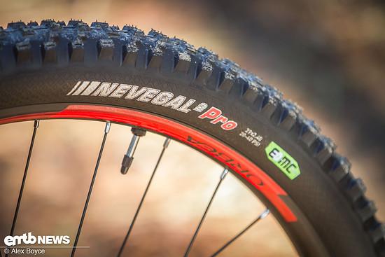Eine wirklich gute E-Bike-Reifenkombination, robust und mit gutem Abrollverhalten.